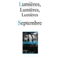 Premières Lignes#10, Septembre, Evelyne de La Chenelière, Editions Théâtrales.