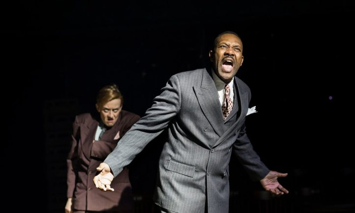 The resistible rise of Arturo Ui Brecht Donmar Warehouse Bruce Norris Lenny Henry Photo Helen Maybanks.jpg