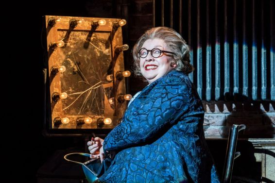 Di Botcher as Hattie Walker in FOLLIES at the National Theatre (c) Johan Persson