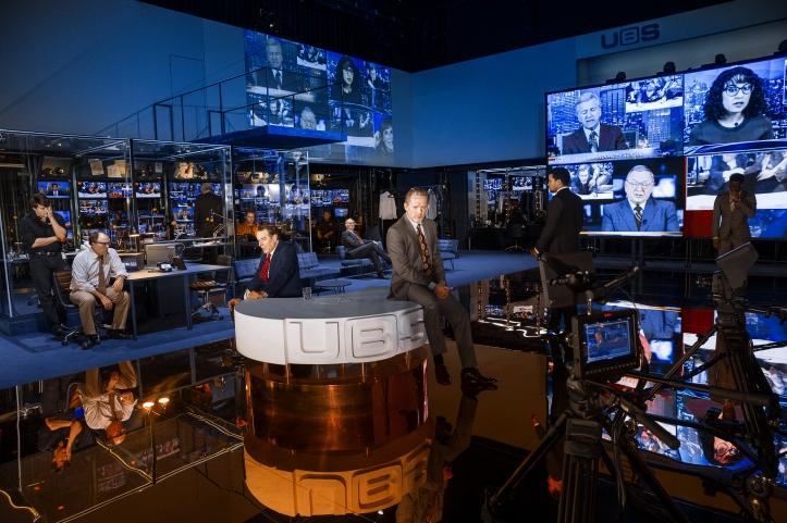 A scene from Network. Image taken by Jan Versweyveld