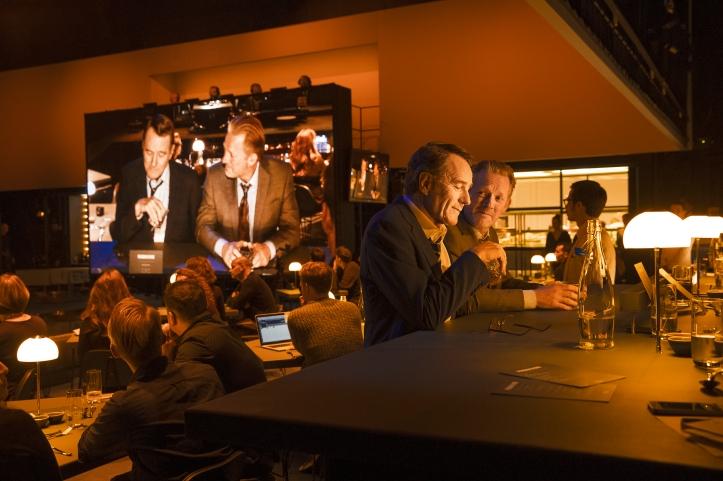 Bryan Cranston, Douglas Henshall in Network. Image by Jan Versweyveld