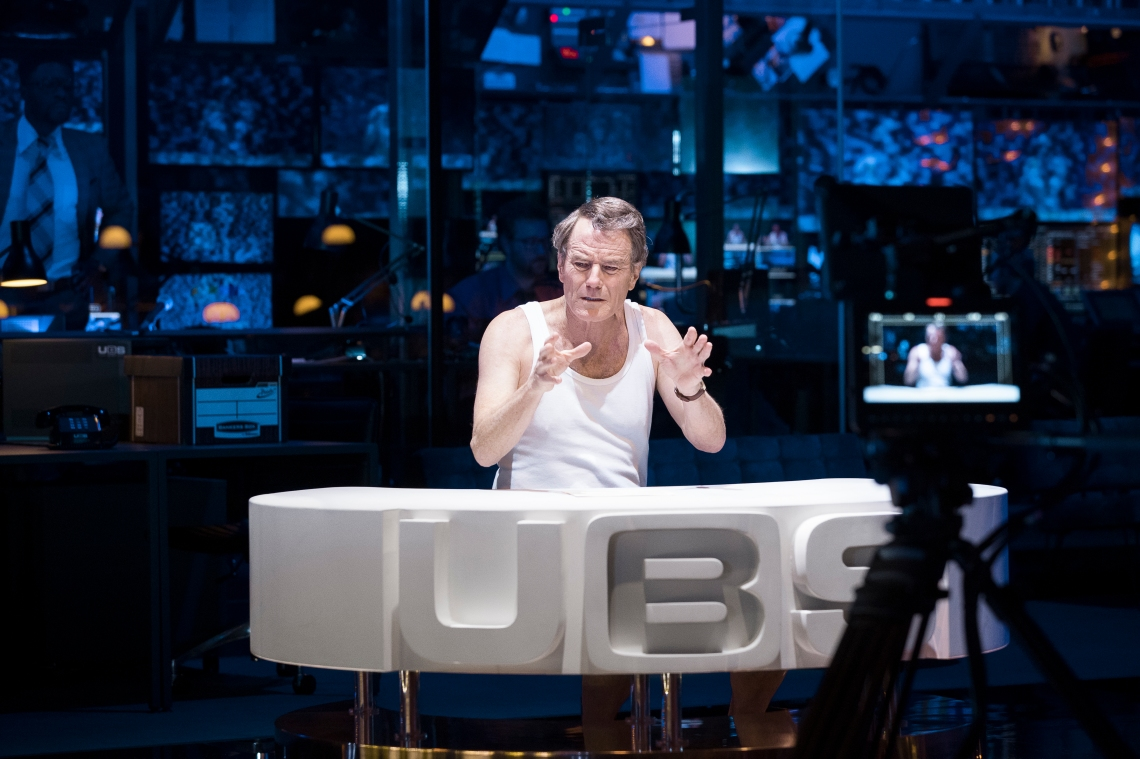 Bryan Cranston in Network. Image by Jan Versweyveld