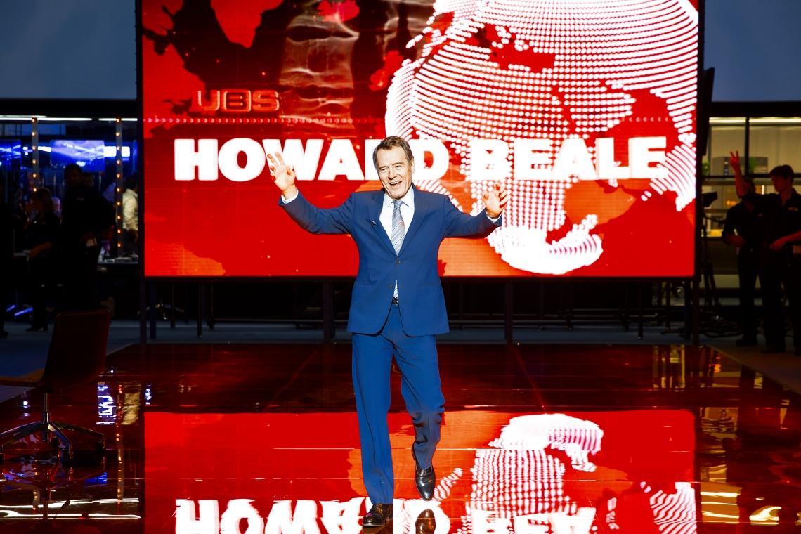 Bryan Cranston in Network. Image by Jan Versweyveld