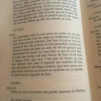 Les séparables, Fabrice Melquiot, L'Arche Jeunesse, Premières Lignes #32
