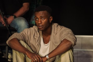 Suzy Storck at the Gate Theatre. Theo Solomon (Chorus) Photo by Helen Murray