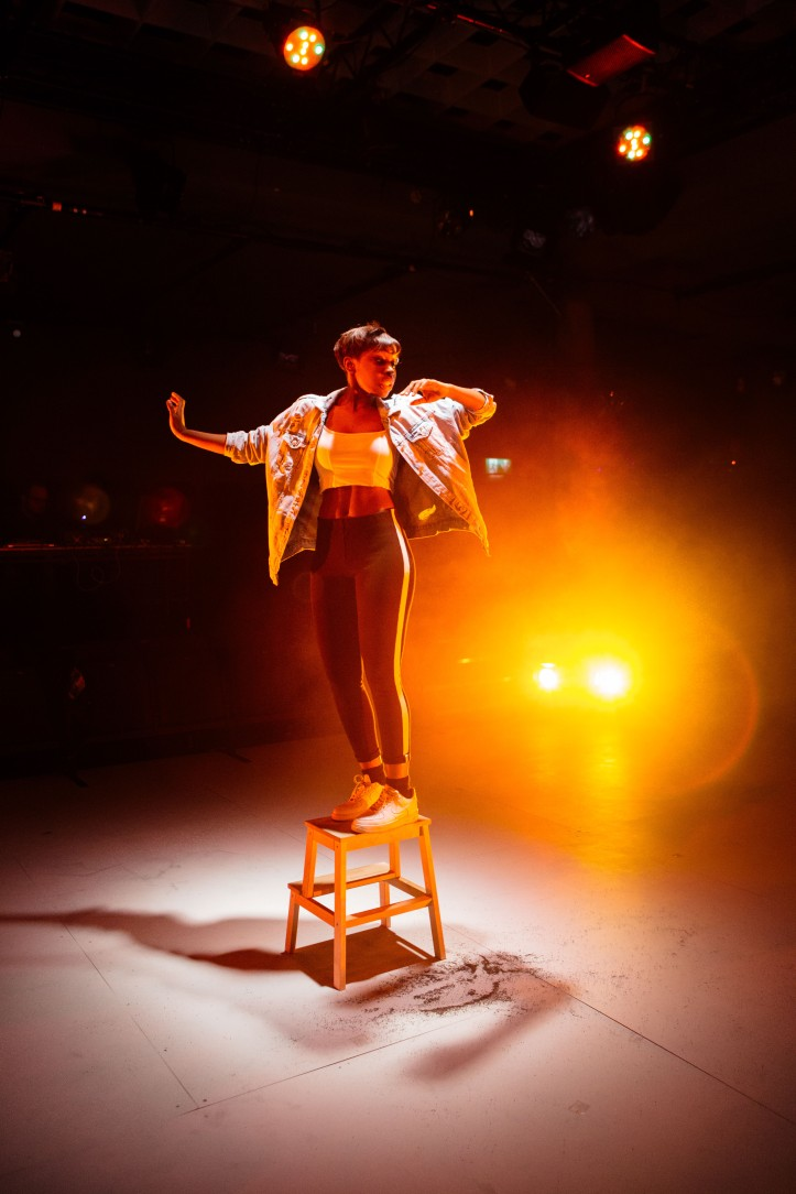 ©helenmurray Seraphina Beh (Catherine). Parliament Square by James Fritz, directed by Jude Christian, Bush Theatre-104-2