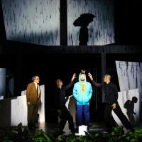 Pluto, Sidi Larbi Cherkaoui, Barbican (moitié de critique  : départ avant la fin du spectacle). De la robotique mortifère.